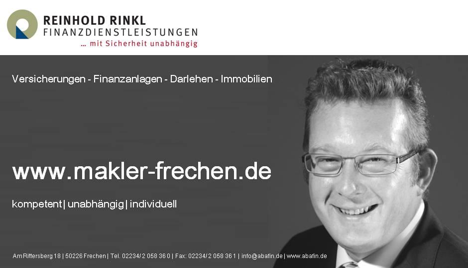 Finanzdienstleistung Reinhold Rinkl